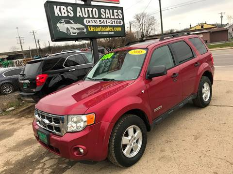 2008 Ford Escape for sale at KBS Auto Sales in Cincinnati OH