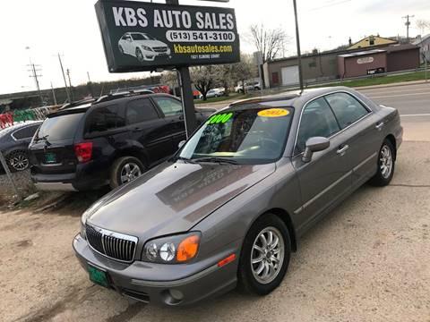 2002 Hyundai XG350 for sale at KBS Auto Sales in Cincinnati OH