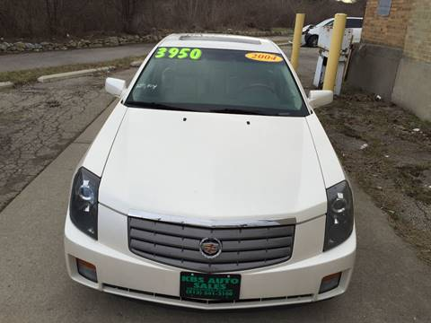 2004 Cadillac CTS for sale at KBS Auto Sales in Cincinnati OH