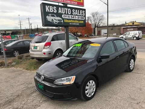 2013 Volkswagen Jetta for sale at KBS Auto Sales in Cincinnati OH