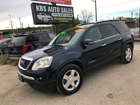 2008 GMC Acadia for sale at KBS Auto Sales in Cincinnati OH