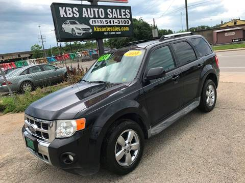 2010 Ford Escape for sale at KBS Auto Sales in Cincinnati OH