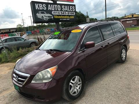 2007 Honda Odyssey for sale at KBS Auto Sales in Cincinnati OH