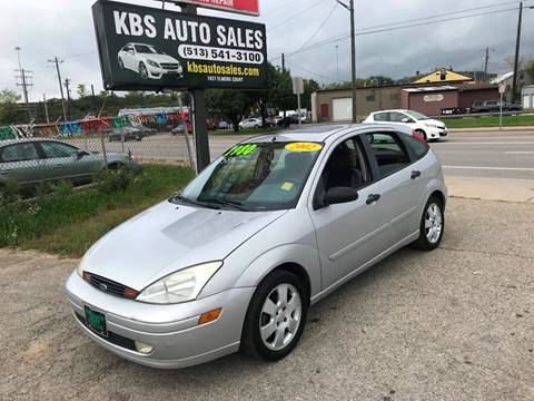 2002 Ford Focus for sale at KBS Auto Sales in Cincinnati OH
