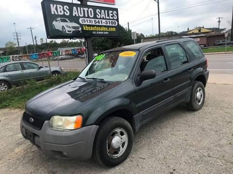 2003 Ford Escape for sale at KBS Auto Sales in Cincinnati OH