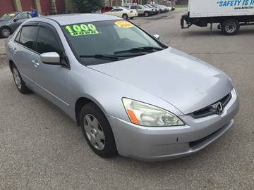 2005 Honda Accord for sale at KBS Auto Sales in Cincinnati OH