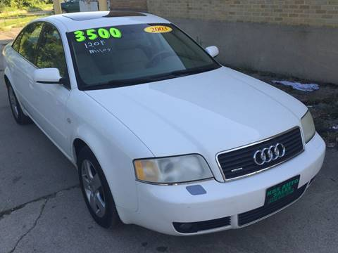 2003 Audi A6 for sale at KBS Auto Sales in Cincinnati OH