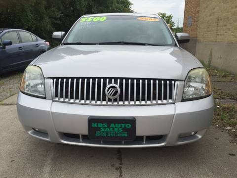 2005 Mercury Montego for sale at KBS Auto Sales in Cincinnati OH