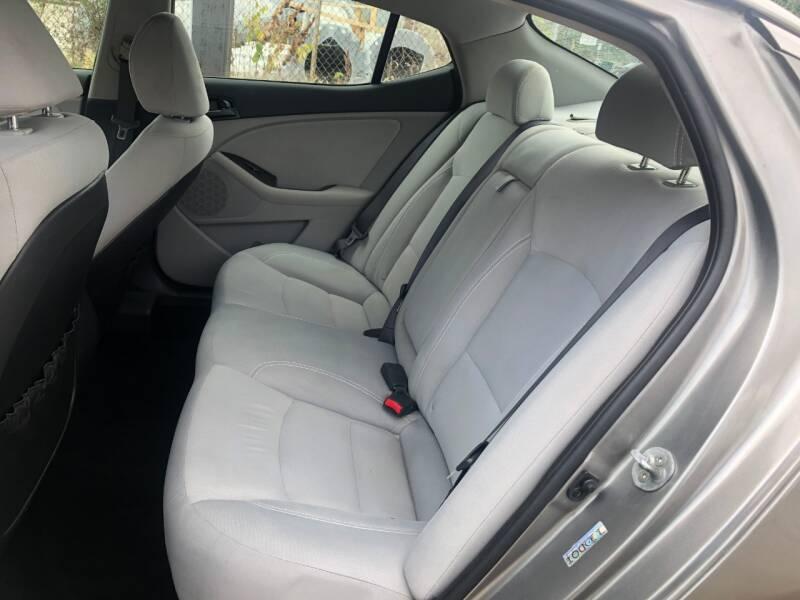 2012 Kia Optima LX 4dr Sedan 6A - Cincinnati OH