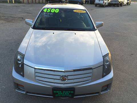 2007 Cadillac CTS for sale at KBS Auto Sales in Cincinnati OH
