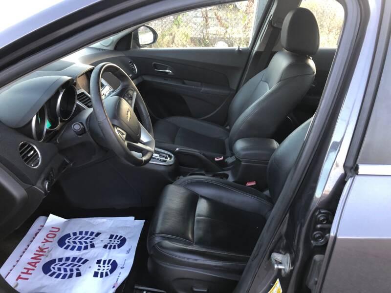 2011 Chevrolet Cruze LT 4dr Sedan w/2LT - Cincinnati OH