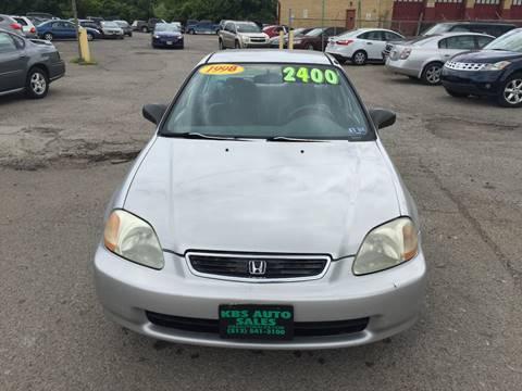 1998 Honda Civic for sale at KBS Auto Sales in Cincinnati OH