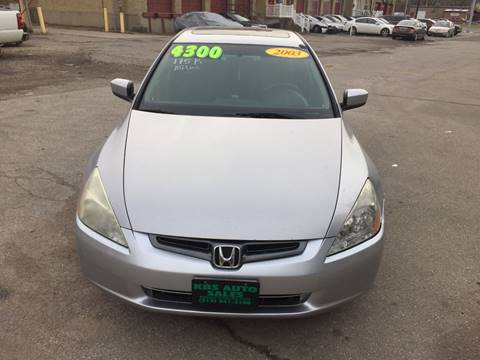 2003 Honda Accord for sale at KBS Auto Sales in Cincinnati OH