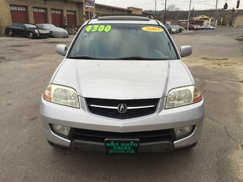 2003 Acura MDX for sale at KBS Auto Sales in Cincinnati OH