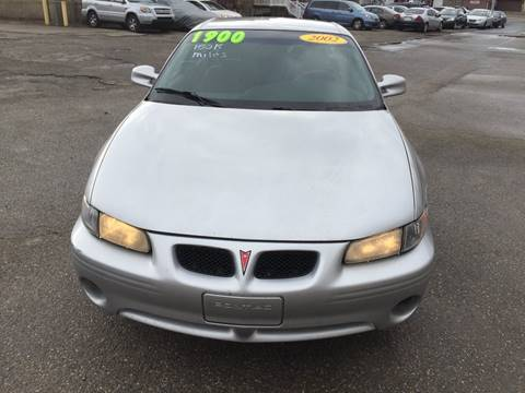 2002 Pontiac Grand Prix for sale at KBS Auto Sales in Cincinnati OH