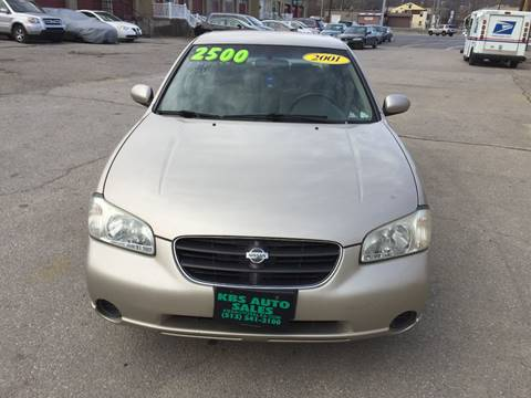 2001 Nissan Maxima for sale at KBS Auto Sales in Cincinnati OH