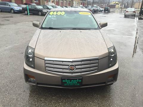 2006 Cadillac CTS for sale at KBS Auto Sales in Cincinnati OH