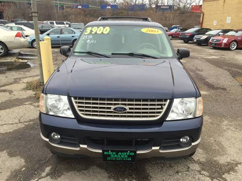 2003 Ford Explorer for sale at KBS Auto Sales in Cincinnati OH