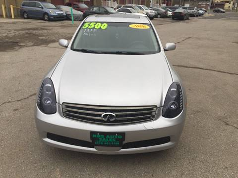 2006 Infiniti G35 for sale at KBS Auto Sales in Cincinnati OH