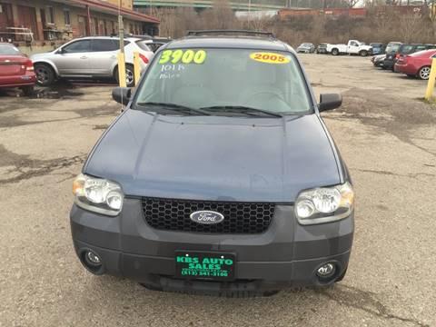 2005 Ford Escape for sale at KBS Auto Sales in Cincinnati OH