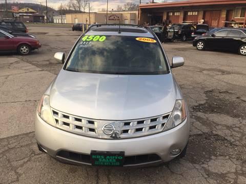 2005 Nissan Murano for sale at KBS Auto Sales in Cincinnati OH