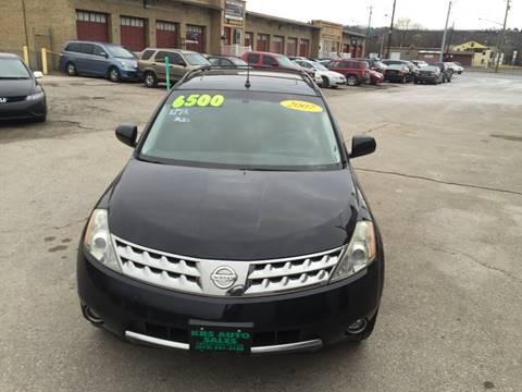 2007 Nissan Murano for sale at KBS Auto Sales in Cincinnati OH