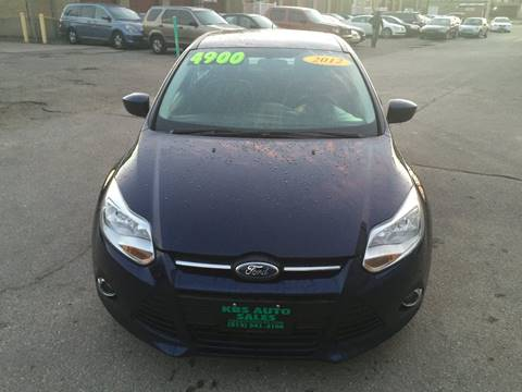 2012 Ford Focus for sale at KBS Auto Sales in Cincinnati OH