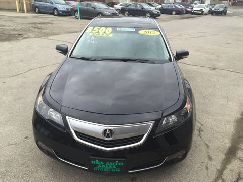 2012 Acura TL for sale at KBS Auto Sales in Cincinnati OH