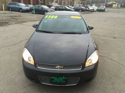 2012 Chevrolet Impala for sale at KBS Auto Sales in Cincinnati OH