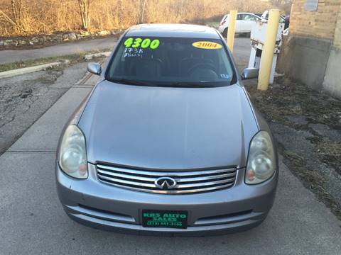 2004 Infiniti G35 for sale at KBS Auto Sales in Cincinnati OH