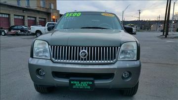2002 Mercury Mountaineer for sale at KBS Auto Sales in Cincinnati OH