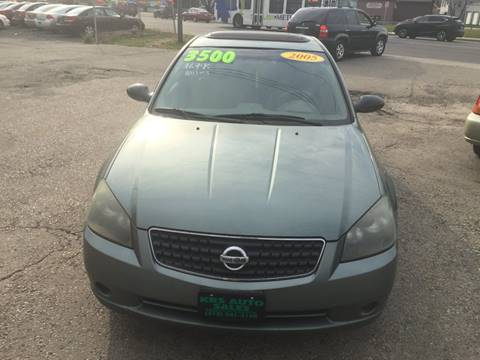 2005 Nissan Altima for sale at KBS Auto Sales in Cincinnati OH