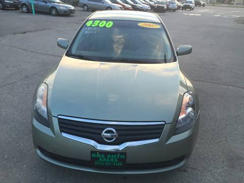 2007 Nissan Altima for sale at KBS Auto Sales in Cincinnati OH