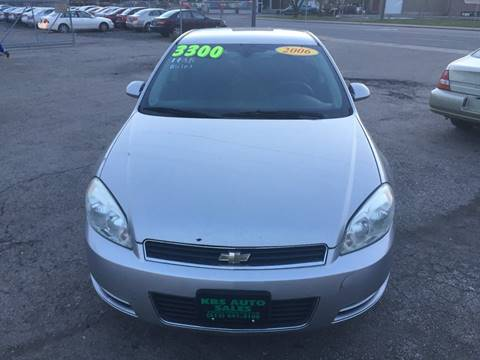 2006 Chevrolet Impala for sale at KBS Auto Sales in Cincinnati OH