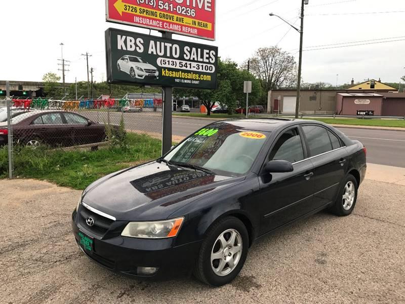2006 Hyundai Sonata Gls V6 4dr Sedan In Cincinnati Oh Kbs Auto Sales
