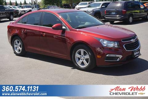 2016 Chevrolet Cruze Limited for sale in Vancouver, WA