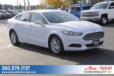 2016 Ford Fusion for sale in Vancouver, WA