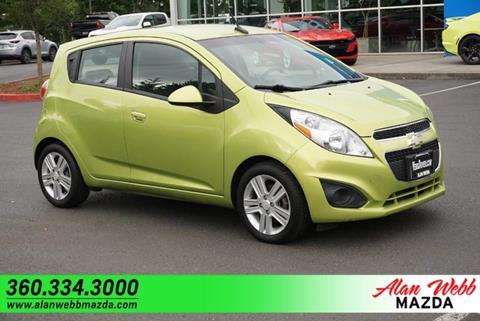Alan Webb Mazda >> 2013 Chevrolet Spark For Sale In Vancouver Wa