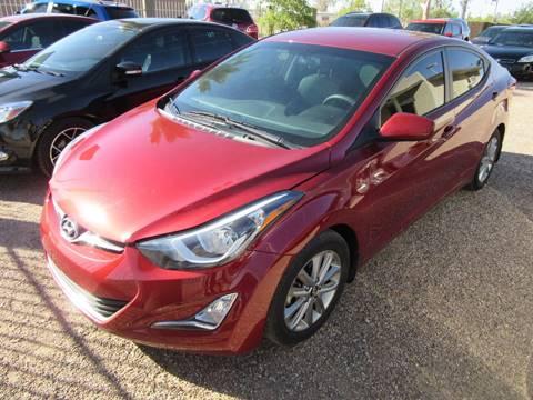 2015 Hyundai Elantra for sale in Eloy, AZ