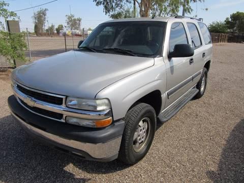 2005 Chevrolet Tahoe for sale in Eloy, AZ