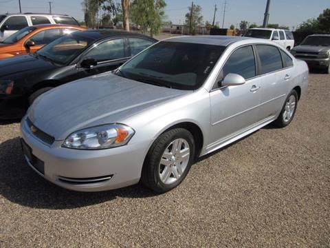 2012 Chevrolet Impala for sale in Eloy, AZ