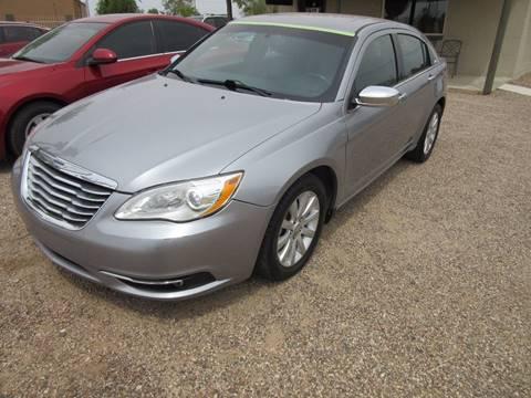2013 Chrysler 200 for sale in Eloy, AZ