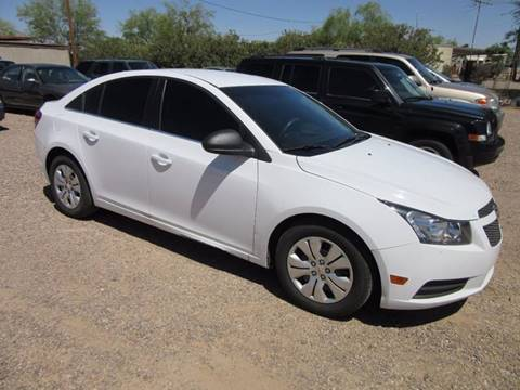 2012 Chevrolet Cruze for sale in Eloy, AZ