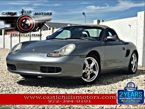 2002 Porsche Boxster for sale in Lewisville, TX
