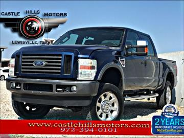 2008 Ford F-250 Super Duty for sale in Lewisville, TX