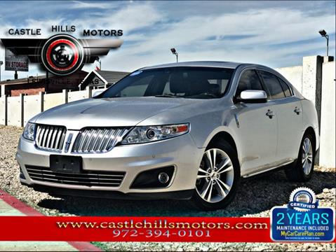 2010 Lincoln MKS for sale in Lewisville, TX
