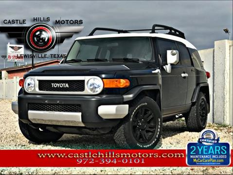 2008 Toyota FJ Cruiser for sale in Lewisville, TX