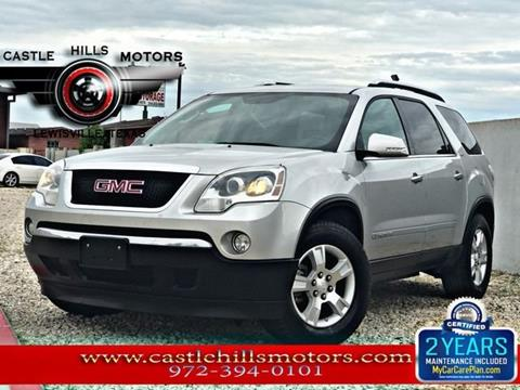 2007 GMC Acadia for sale in Lewisville, TX