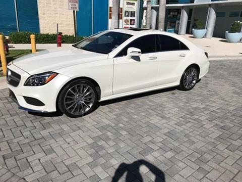 2015 Mercedes-Benz CLS for sale in Lewisville, TX