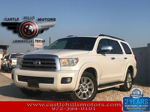 2008 Toyota Sequoia For Sale In Texas Carsforsale